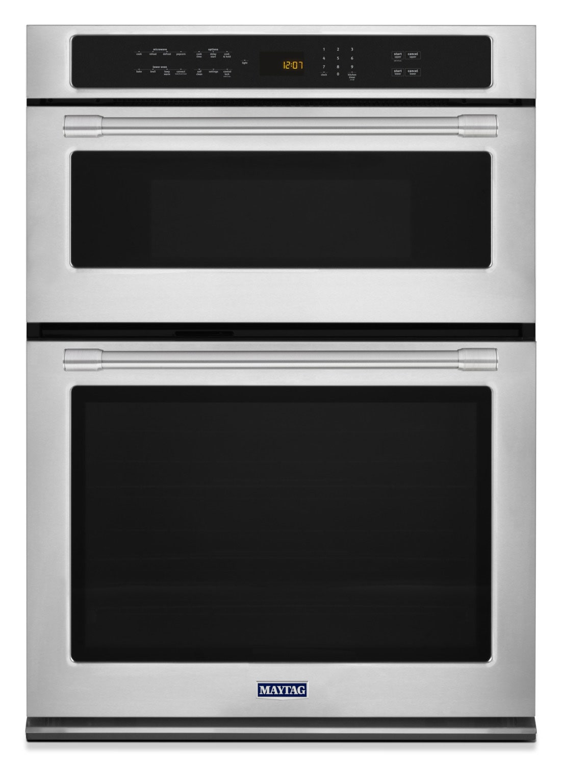 Cooking Products - Maytag 6.4 Cu. Ft. Combination Wall Oven – MMW9730FZ