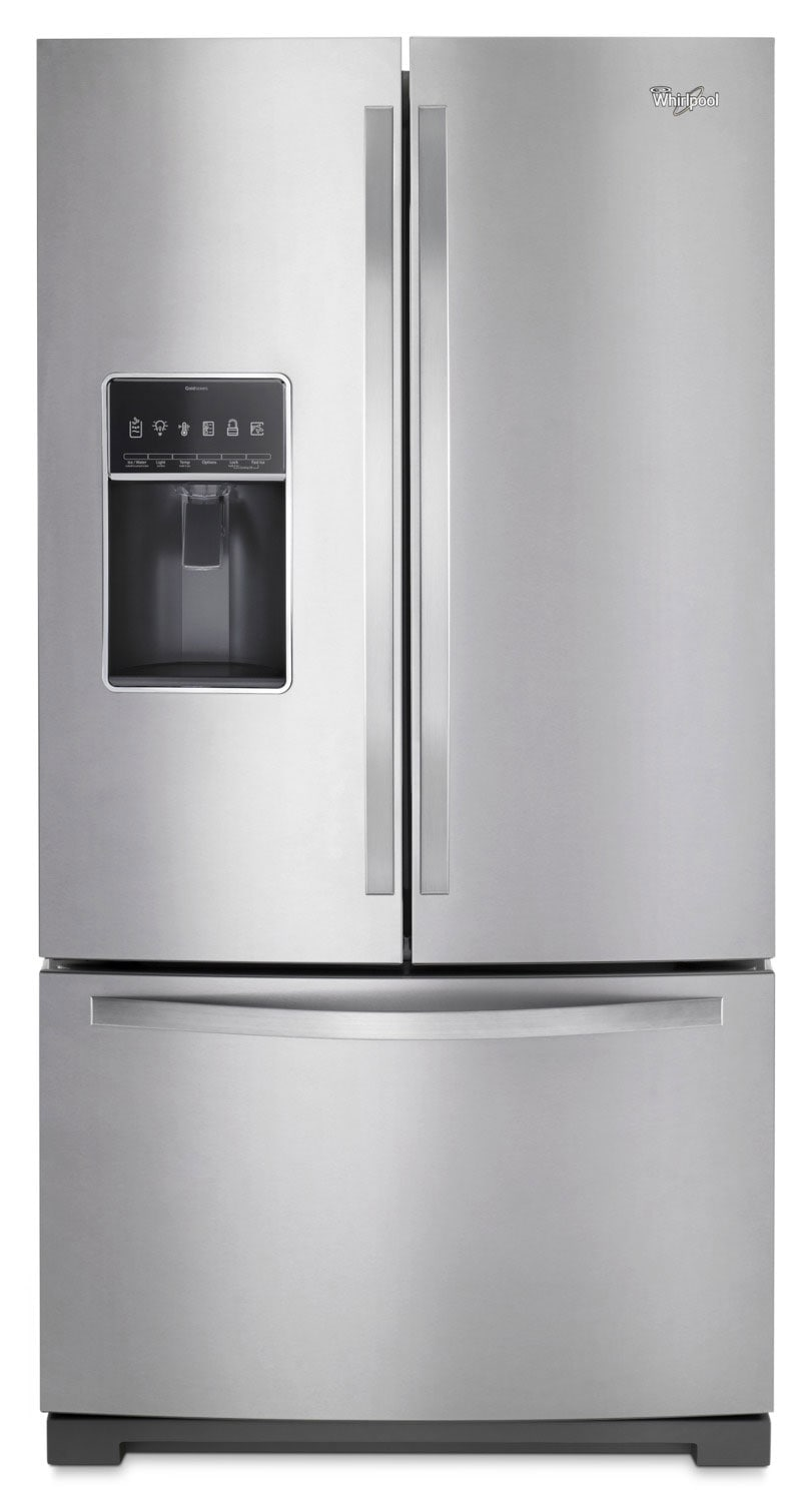 Refrigerators and Freezers - Whirlpool 27 Cu. Ft. French-Door Refrigerator – WRF767SDEM