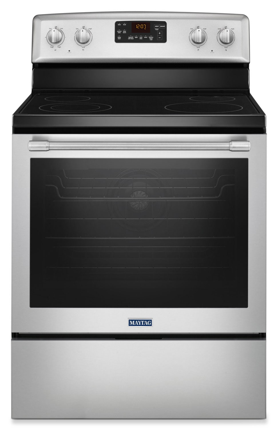 Maytag 6.4 Cu. Ft. Freestanding Electric Convection Range – YMER8650FZ