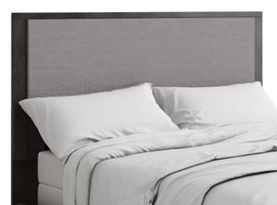 Bedroom Furniture - Monaco Queen Panel Headboard – Anthracite Grey