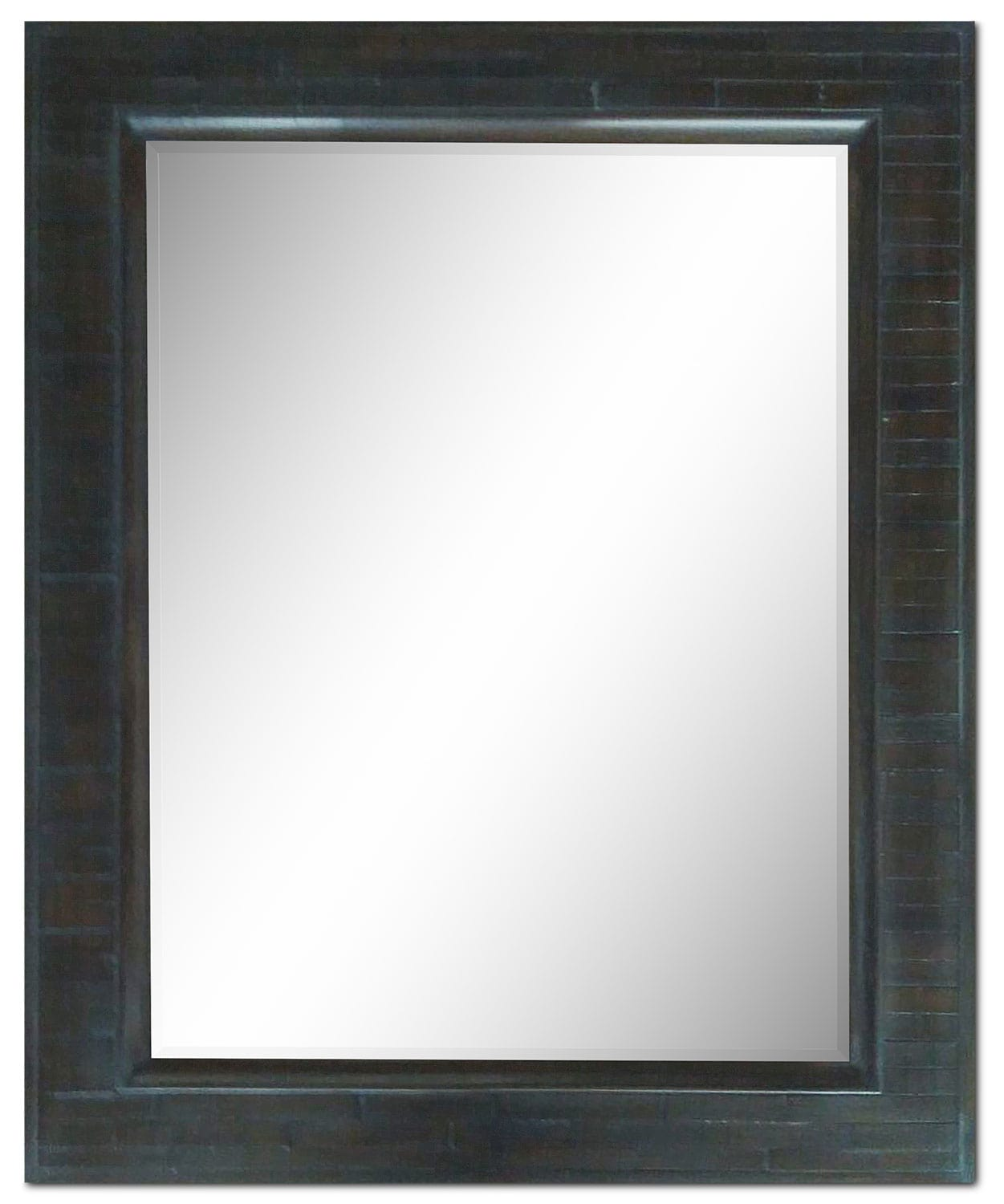 Accent and Occasional Furniture - Liuhana Mirror - Charcoal