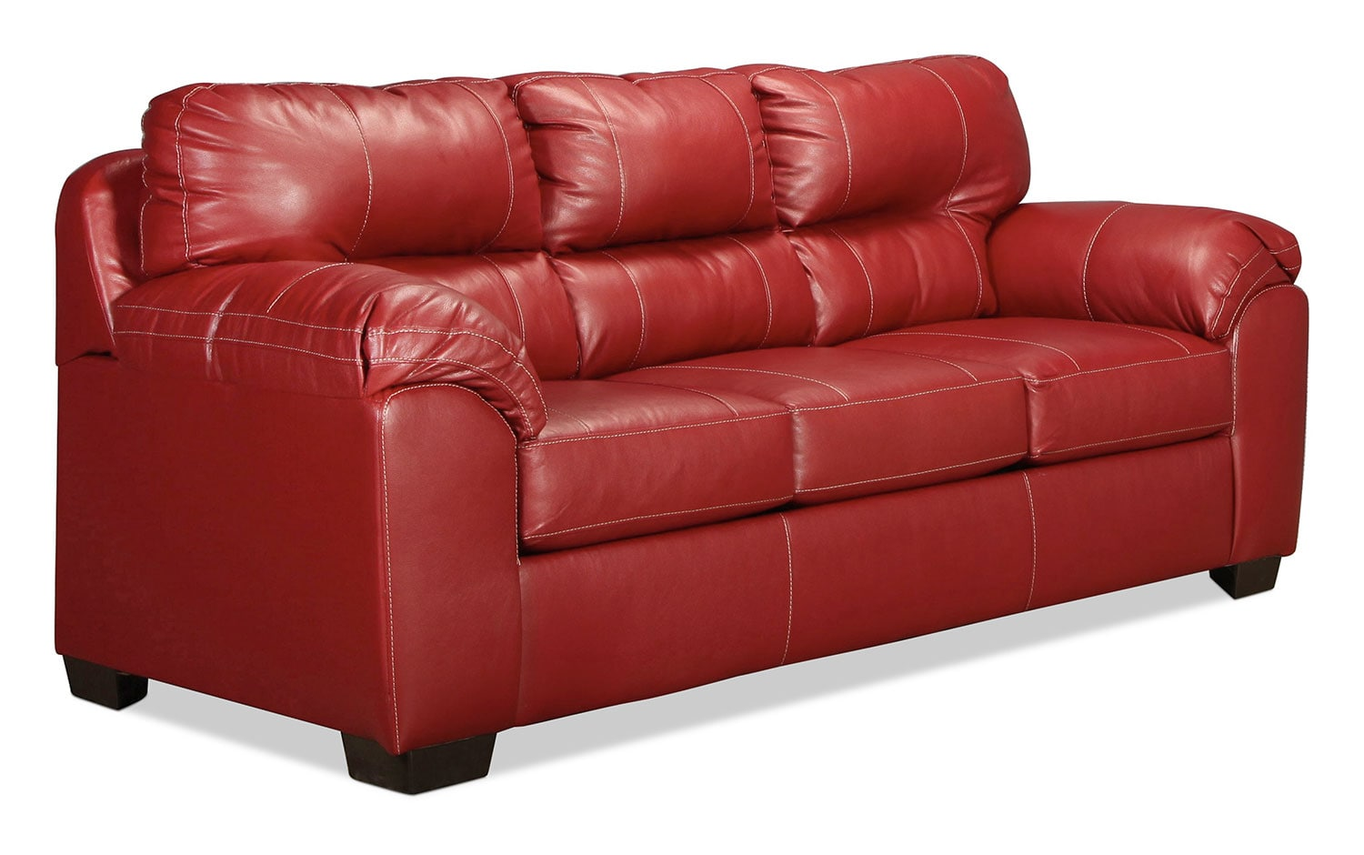 rigley queen sleeper sofa red levin furniture. Black Bedroom Furniture Sets. Home Design Ideas