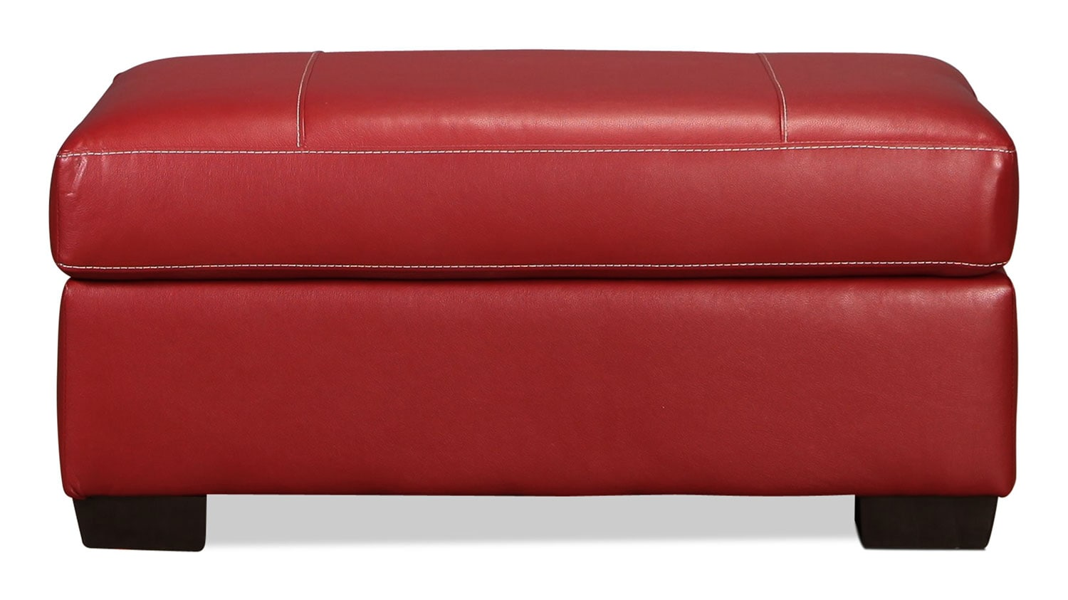 Rigley Ottoman - Red