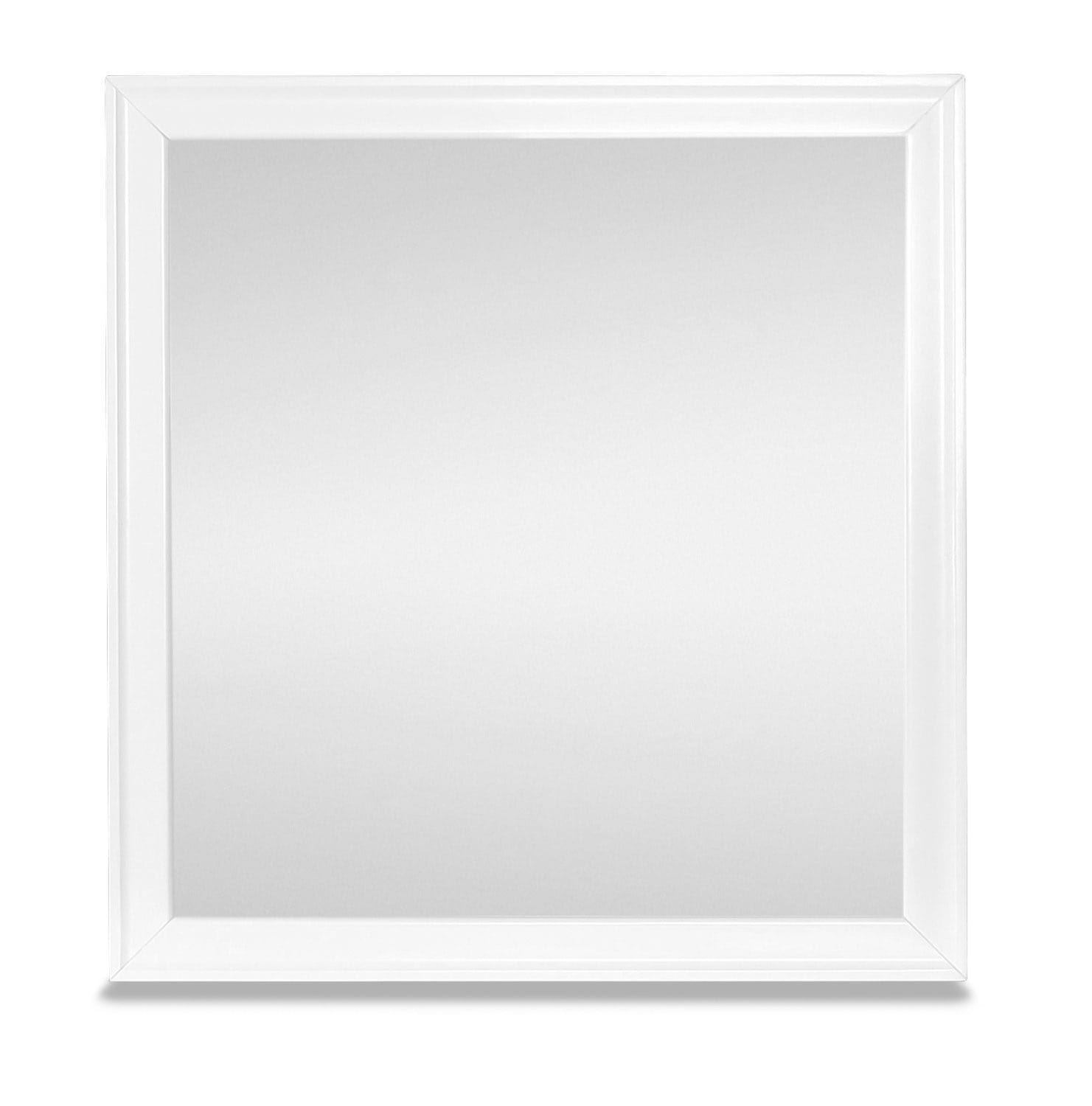 Meadow Shore Mirror - White