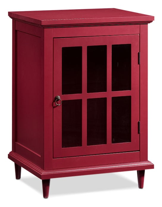 Barrister Lane Accent Cabinet – Red