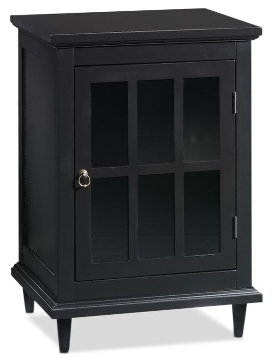 Accent and Occasional Furniture - Barrister Lane Accent Cabinet – Black