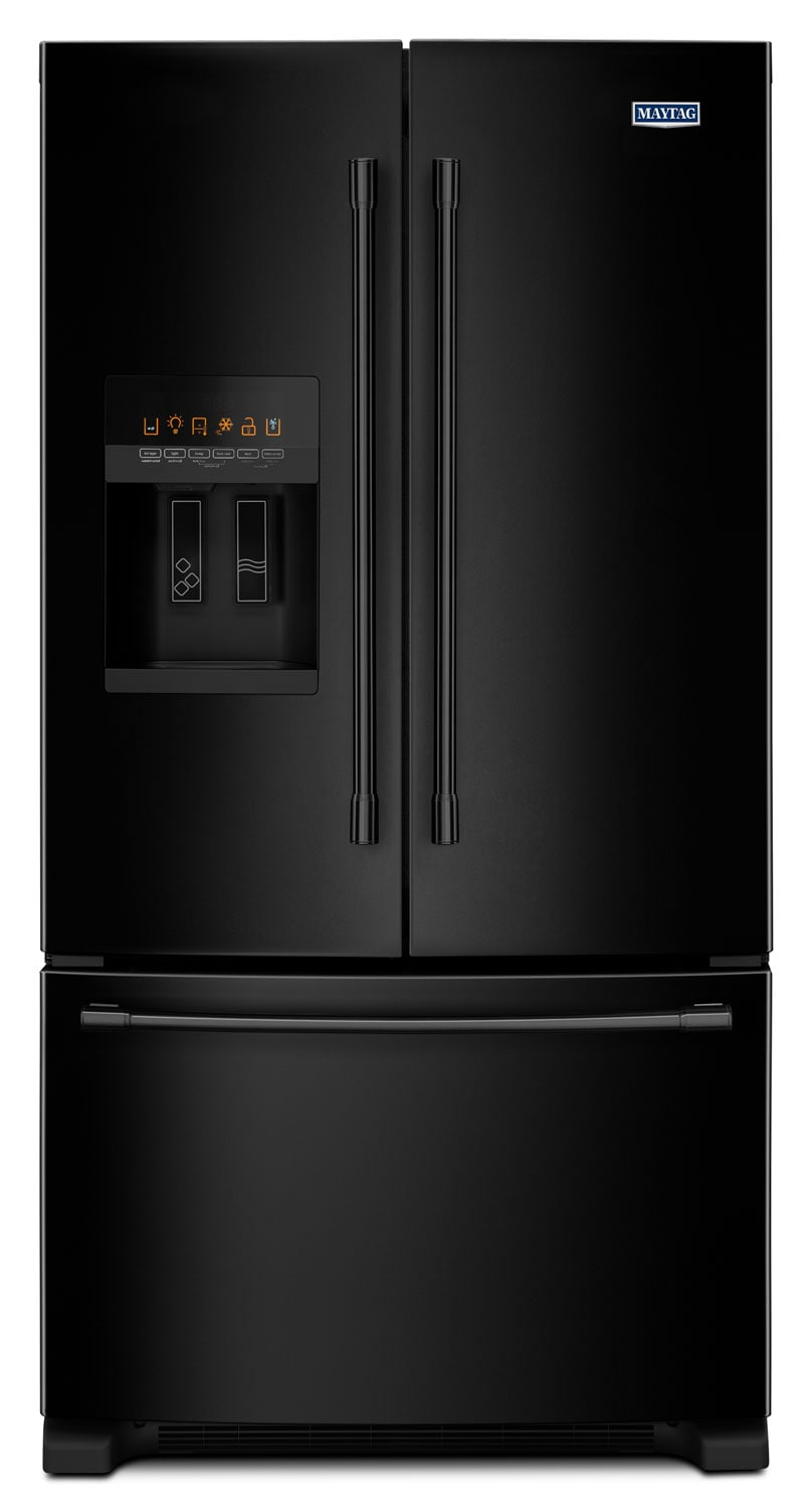 maytag 25 cu ft french door refrigerator mfi2570feb the brick. Black Bedroom Furniture Sets. Home Design Ideas