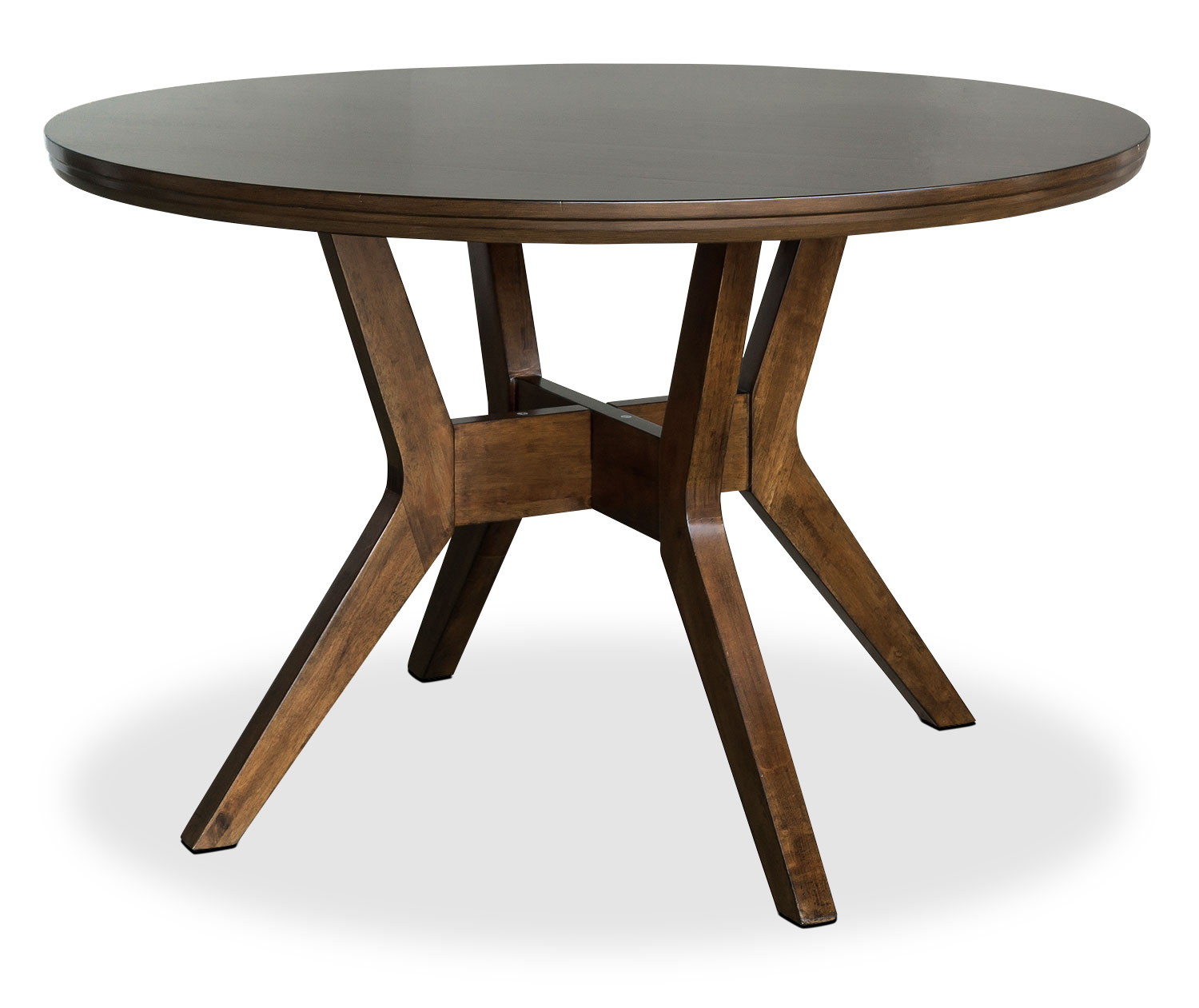 Chelsea round dining table the brick for Circular dining table