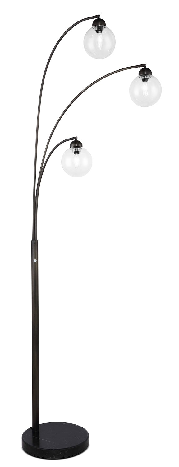 Home Accessories - Mid-Century Arc Lamp