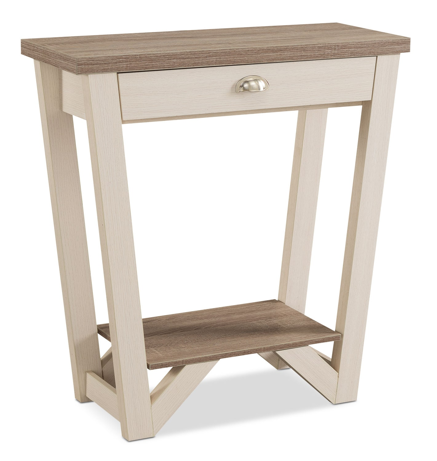 Accent and Occasional Furniture - Arika Console Table – Ivory