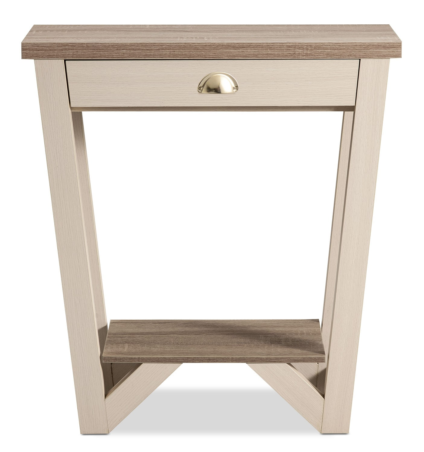 Arika Console Table – Ivory