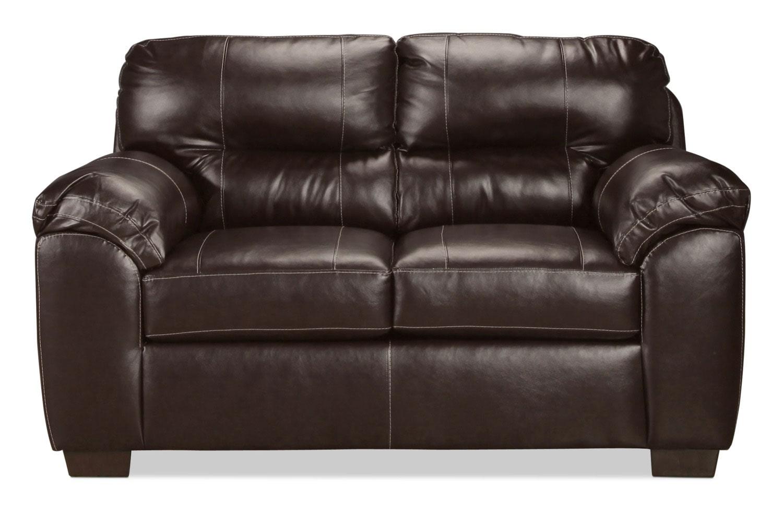Rigley Loveseat Chocolate Levin Furniture
