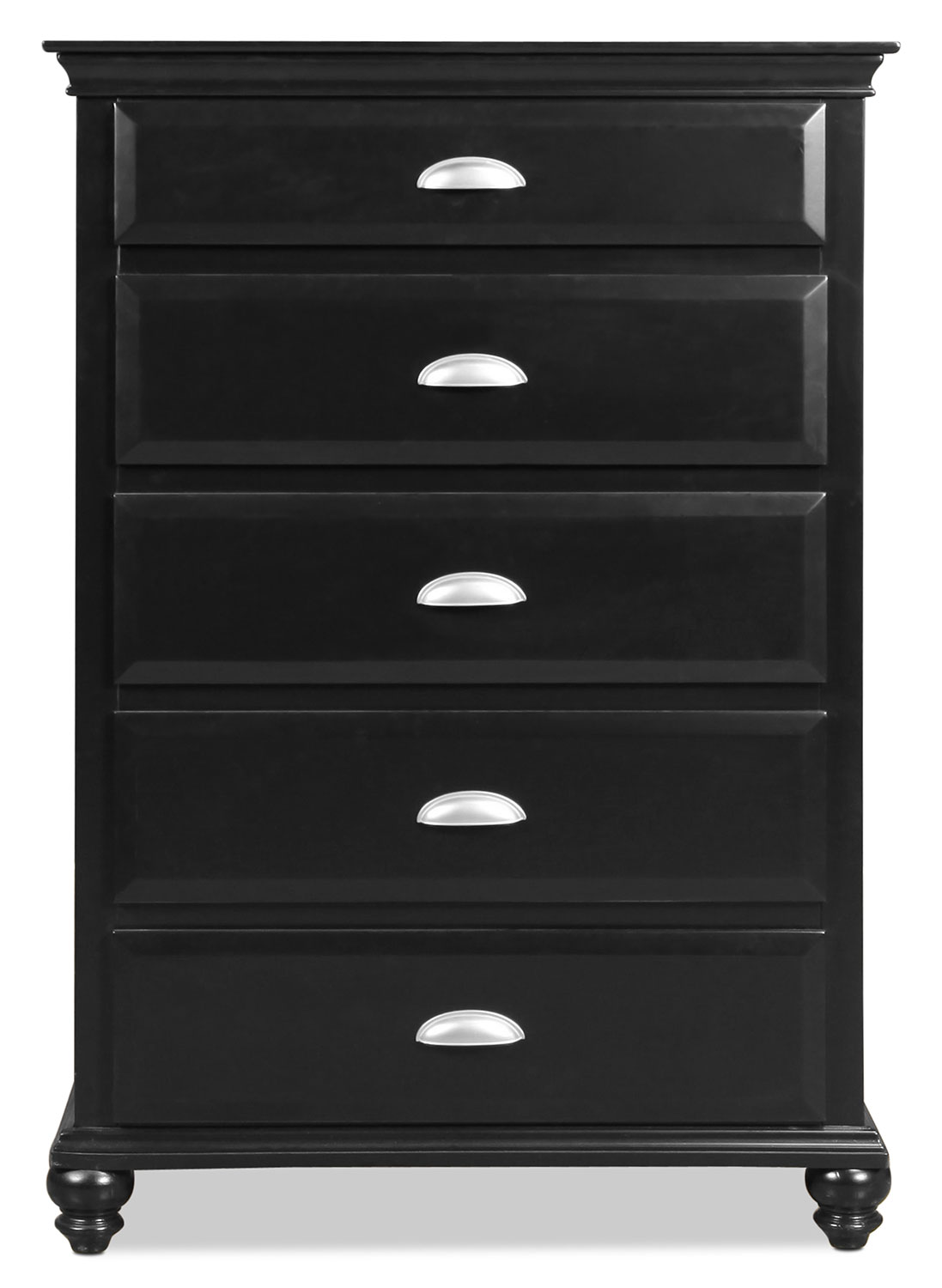Bedroom Furniture - Meadow Grove Chest - Black