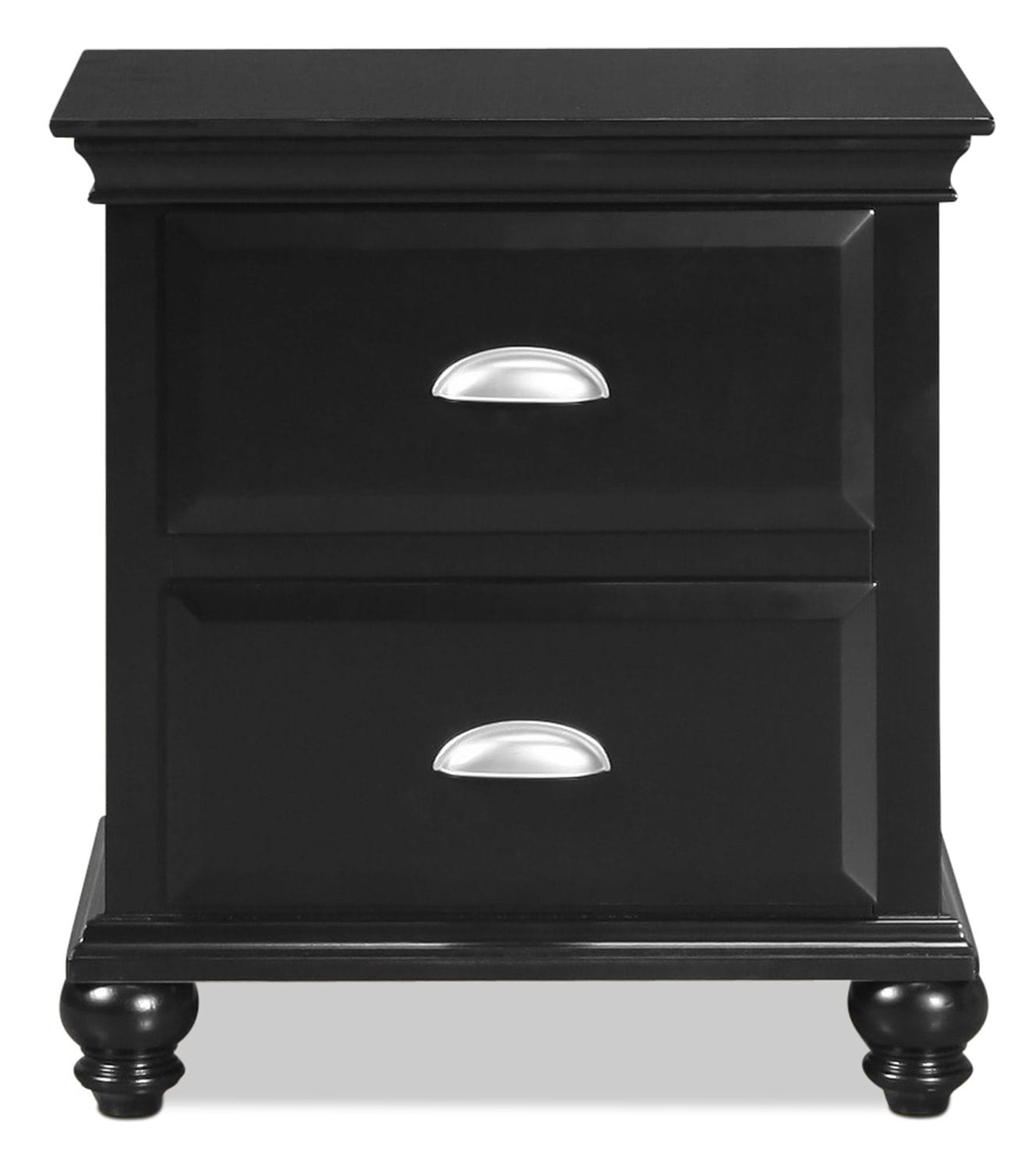 Meadow Grove Nightstand - Black