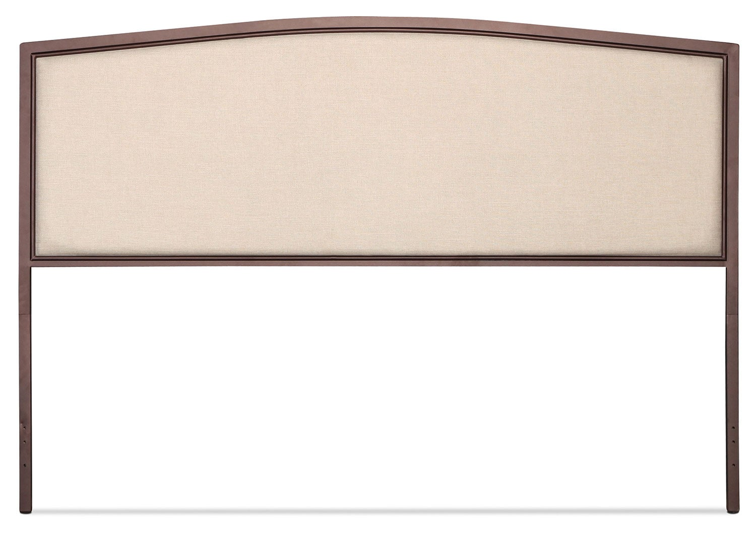 Bayside King Upholstered Headboard - Cream