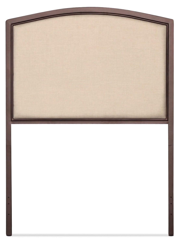 Bayside Twin Upholstered Headboard - Cream