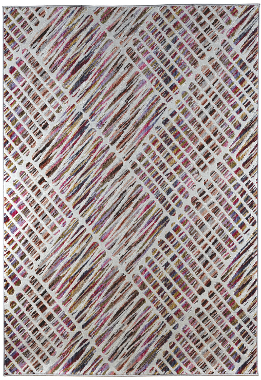 Rugs - Sunbury 5' x 8' Area Rug - Candy Cream