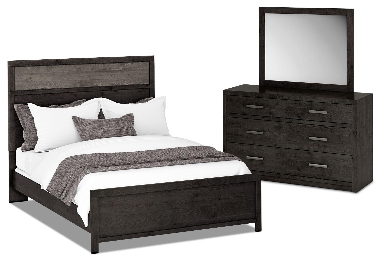 Bedroom Furniture - Onyx 5-Piece Queen Bedroom Package