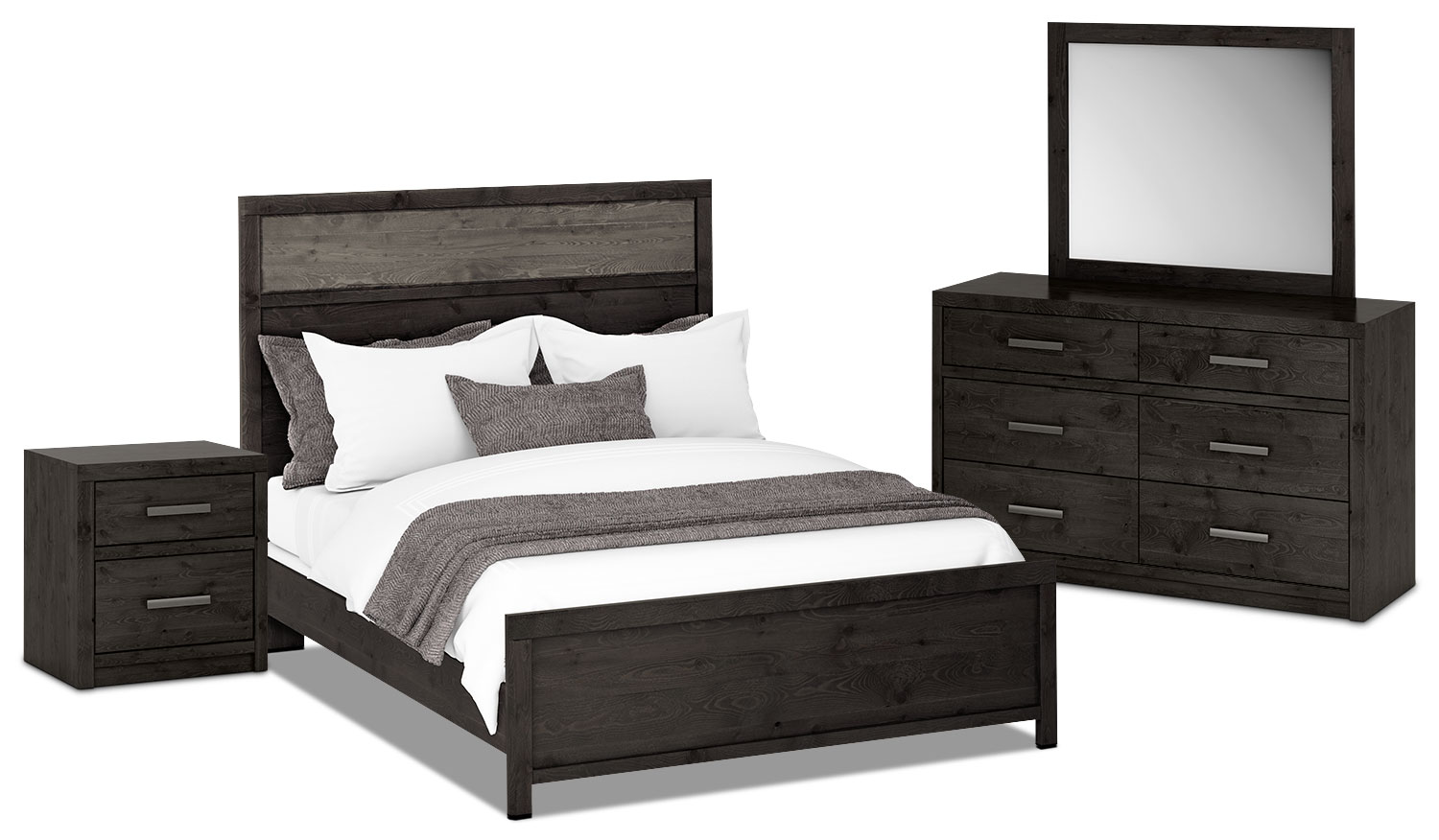 Onyx 6-Piece Queen Bedroom Package