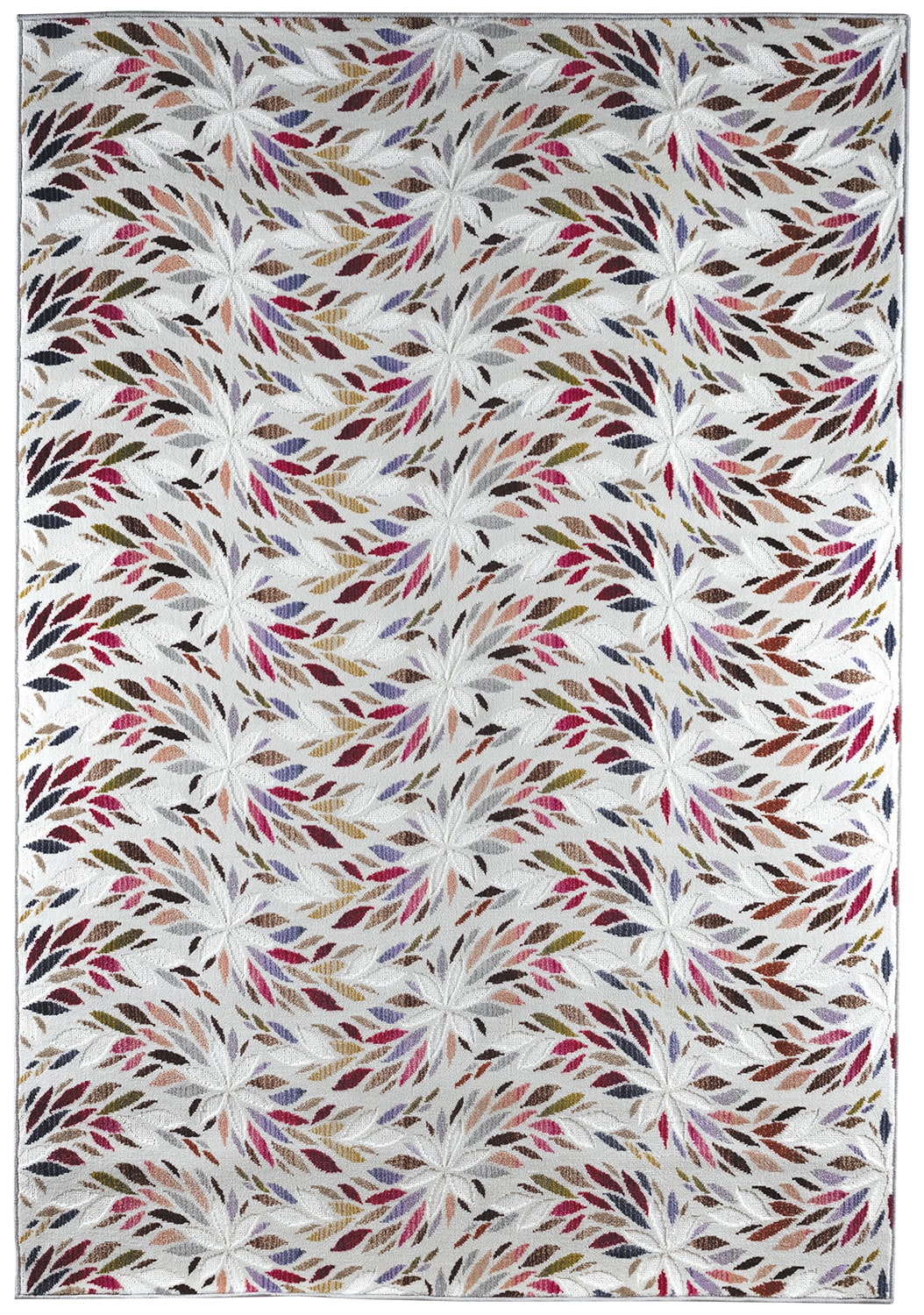 Tessa 5' x 8' Area Rug - Candy Cream