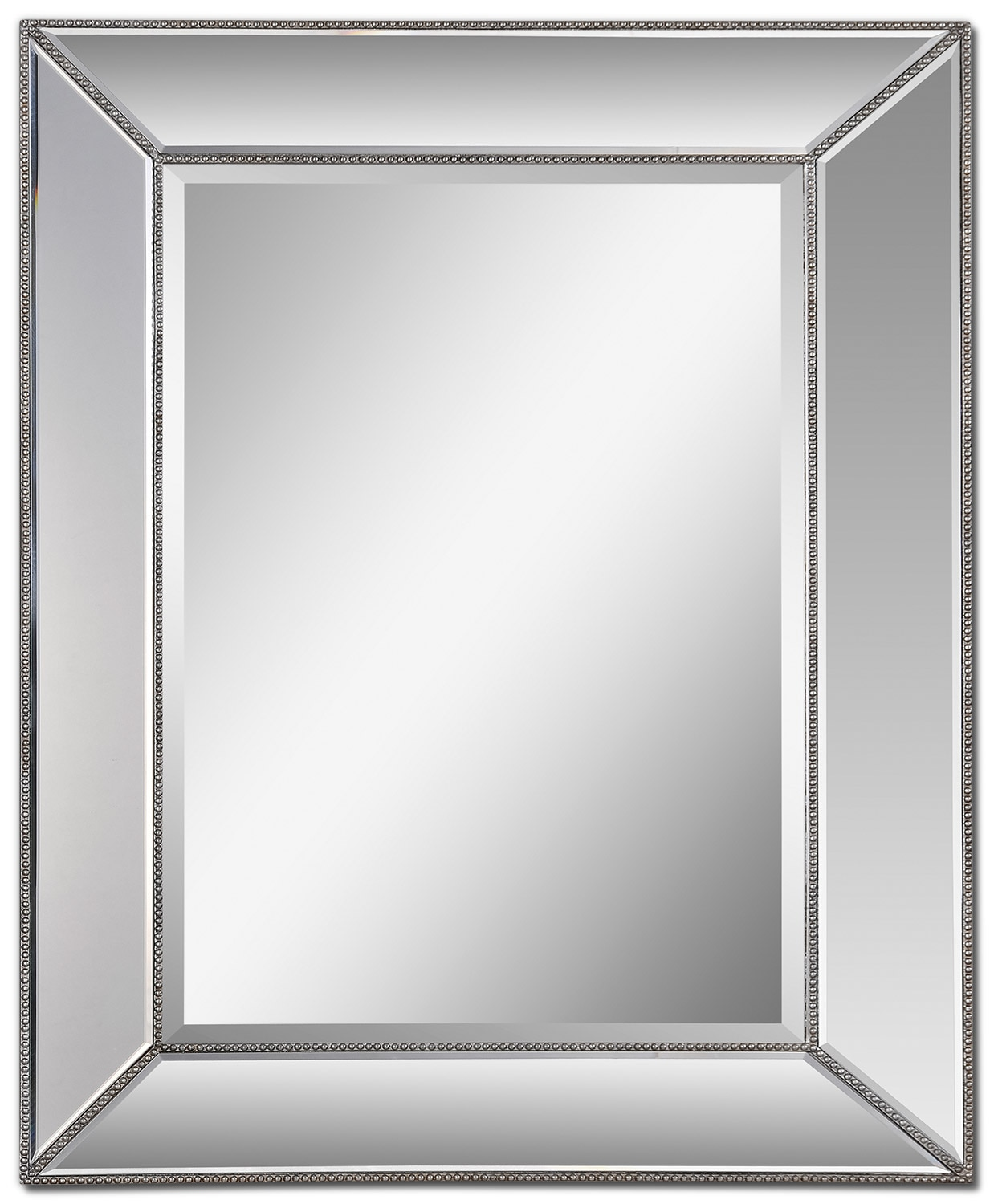 "Accent and Occasional Furniture - Cascade Mirror (36"" x 44"") - Glass"