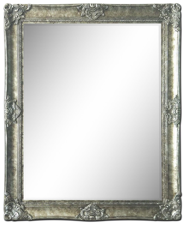 """Acadia Mirror (36"""" x 44"""") - Charcoal"""