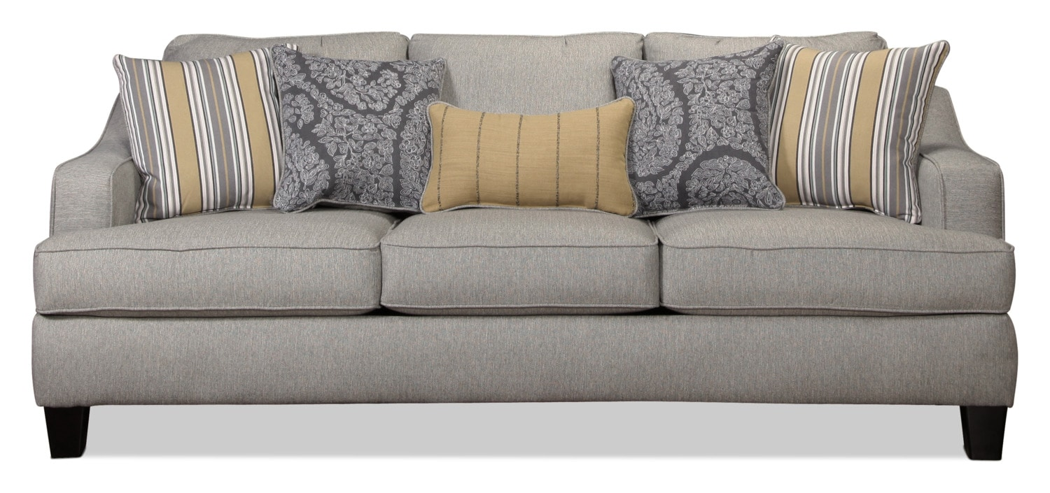 Wilmington Queen Sleeper Sofa - Platinum