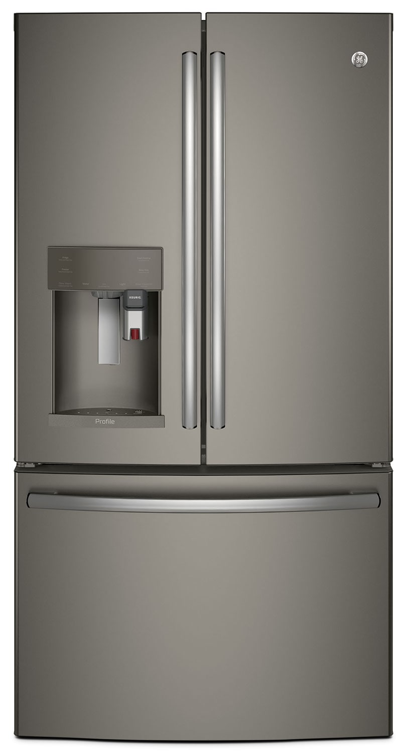 Refrigerators and Freezers - GE 22.1 Cu. Ft. French-Door Refrigerator with Keurig® Brewing System – PYE22PMKES