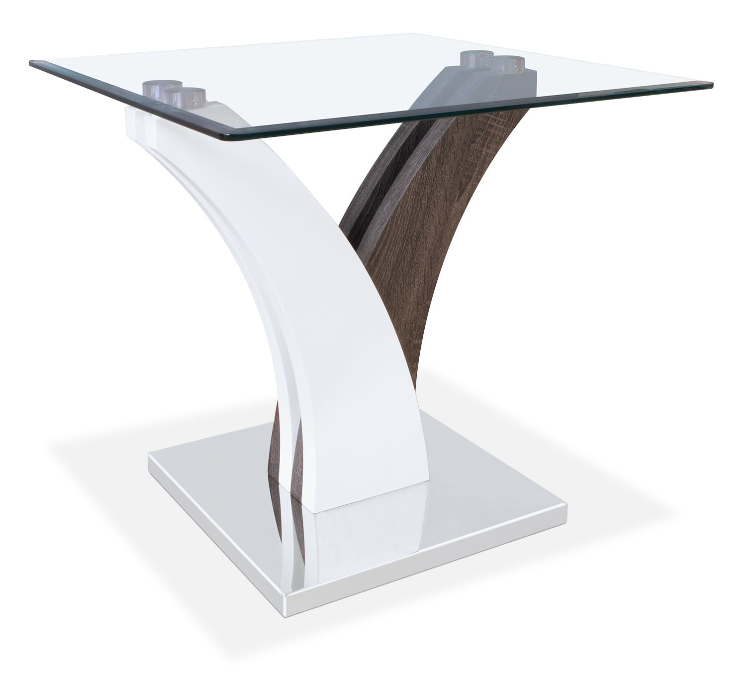 Accent and Occasional Furniture - Tuxedo End Table