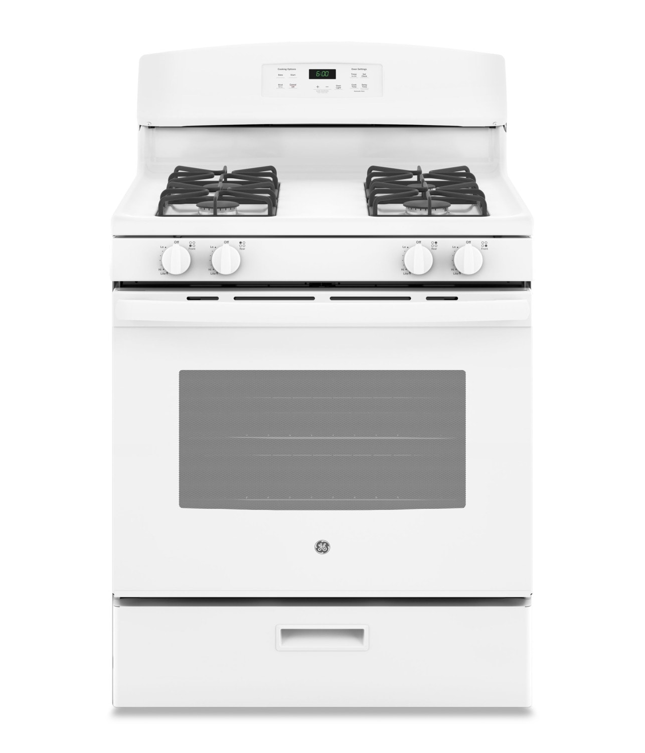 Cooking Products - GE 5.0 Cu. Ft. Freestanding Gas Range – JCGBS60DEKWW