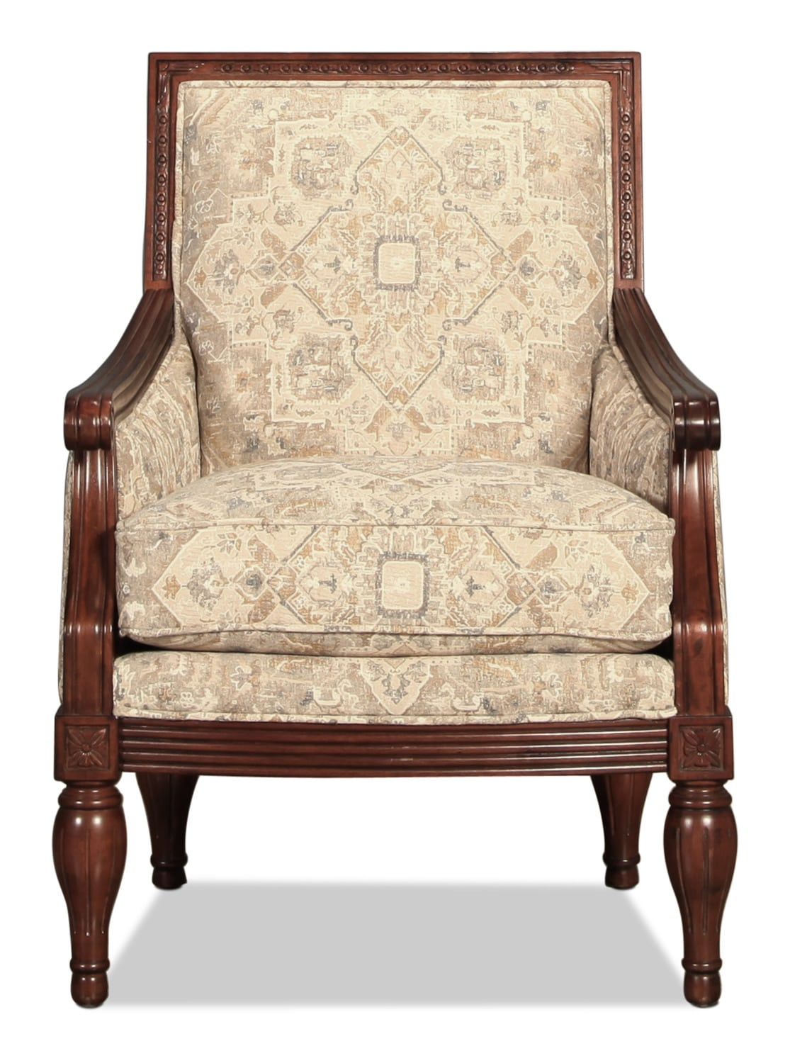Living Room Furniture - Gershwin Accent Chair - Jacquard