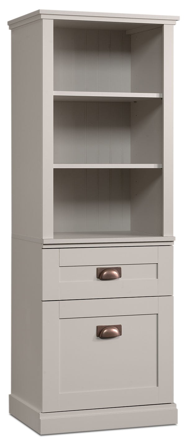 New Grange Bookcase – Cobblestone