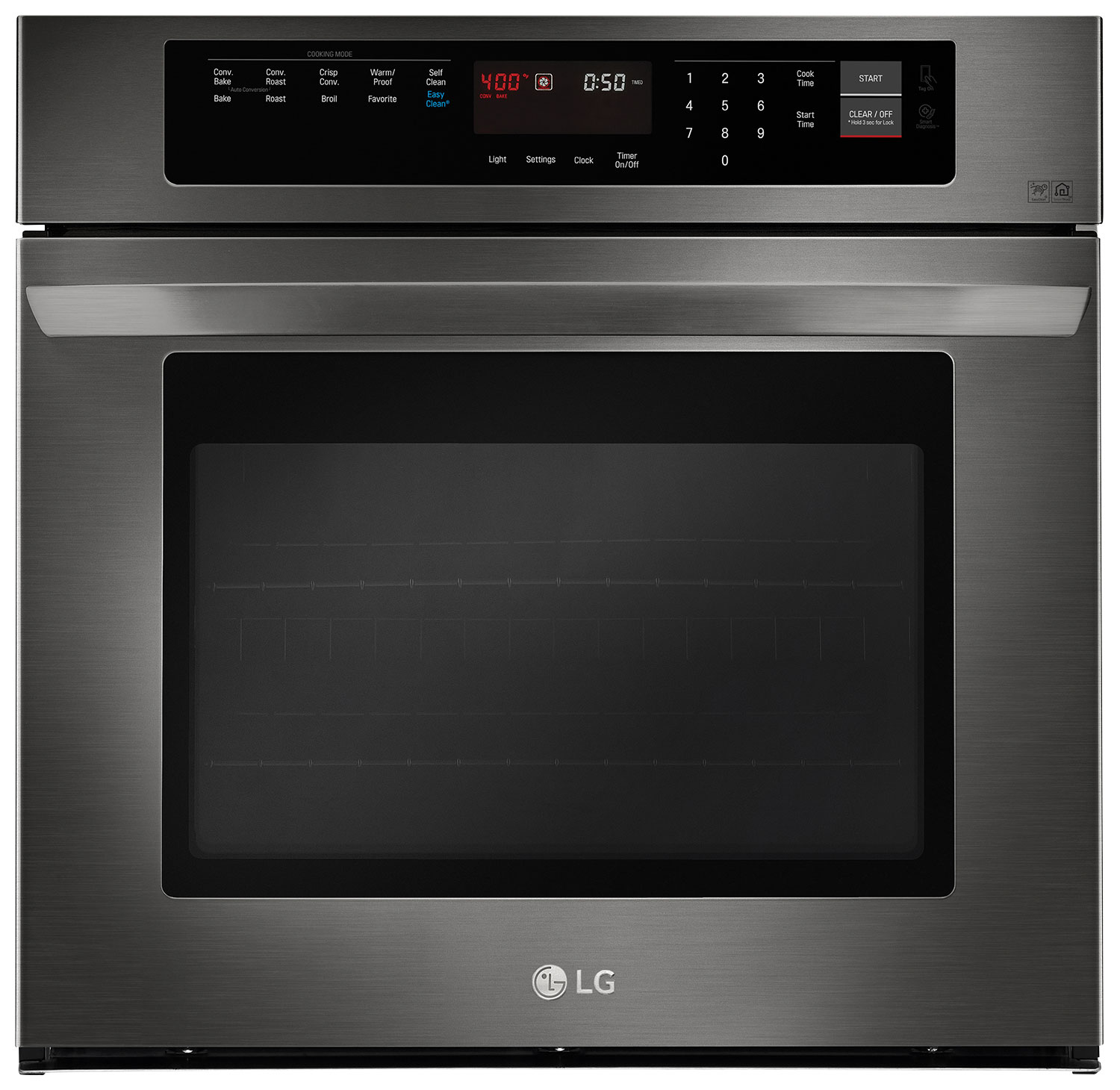 Cooking Products - LG 4.7 Cu. Ft. Single Wall Oven – LWS3063BD