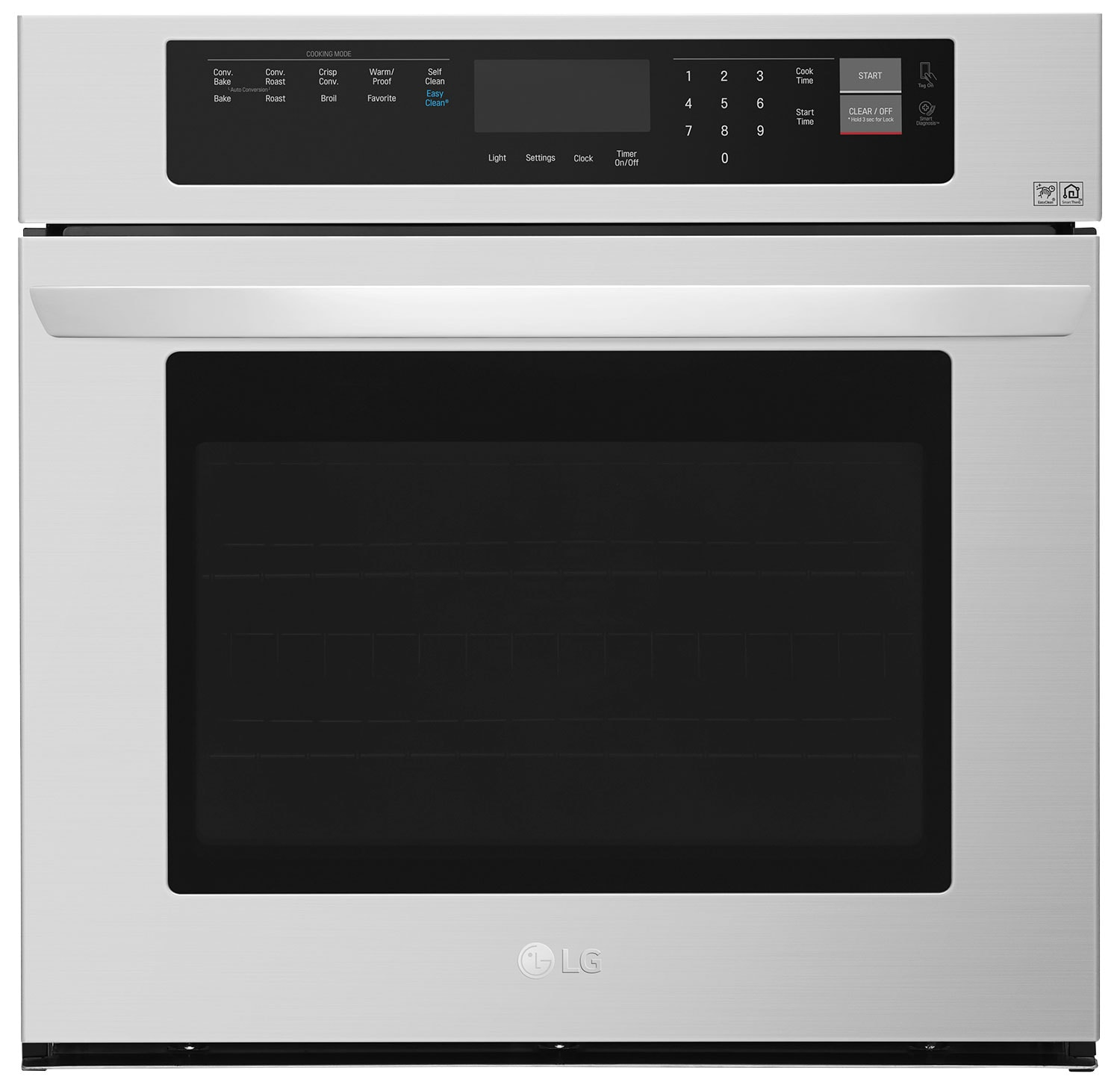 Cooking Products - LG 4.7 Cu. Ft. Single Wall Oven – LWS3063ST