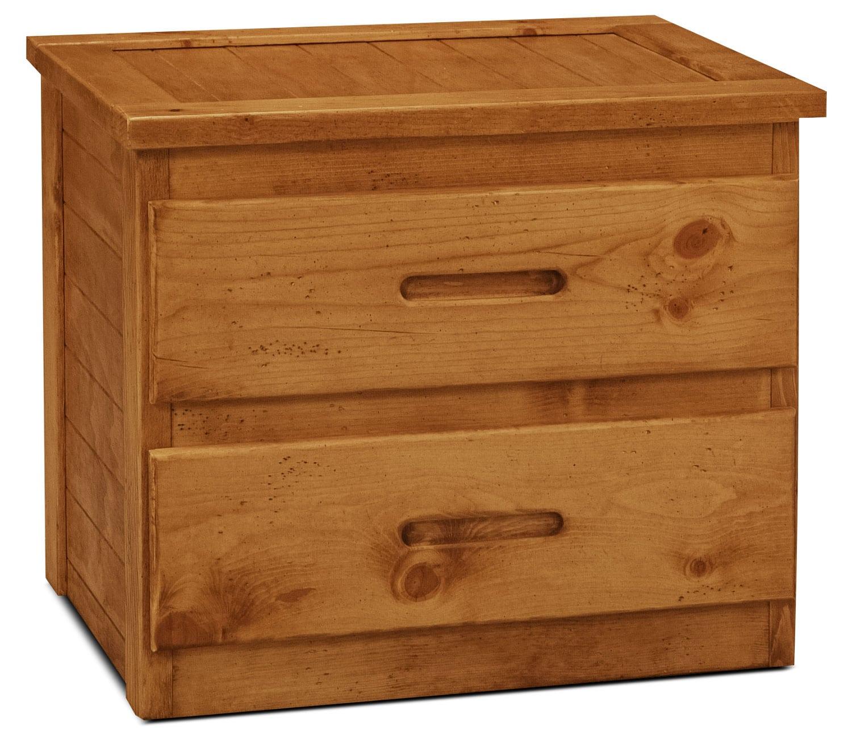 Kids Furniture - Ponderosa 2 Drawer Nightstand