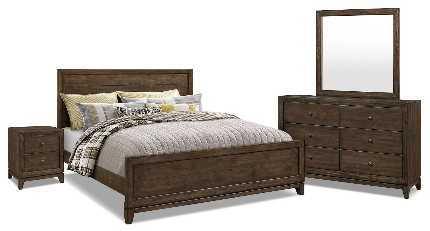 Tacoma 6-Piece King Bedroom Package