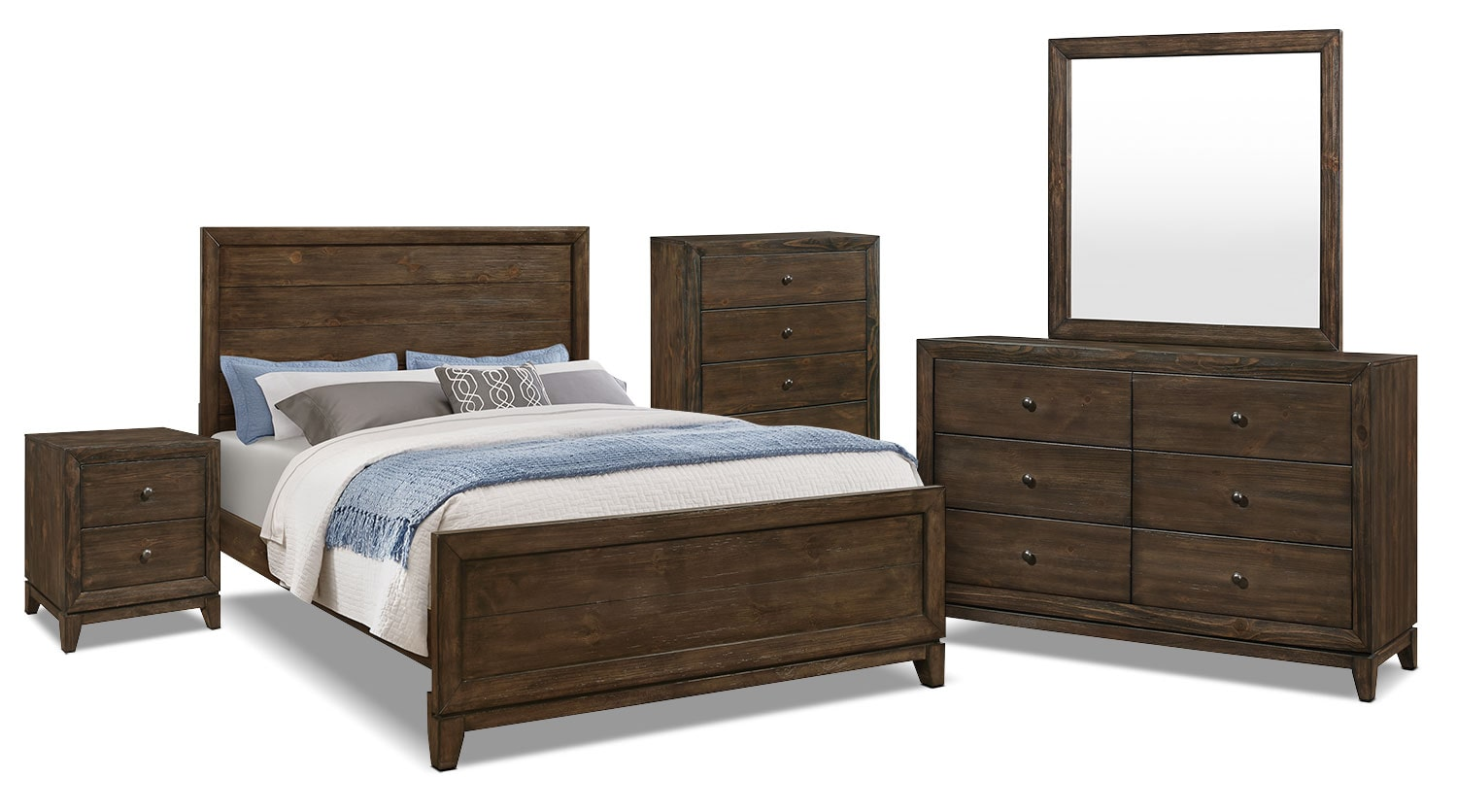 Tacoma 7-Piece Queen Bedroom Package