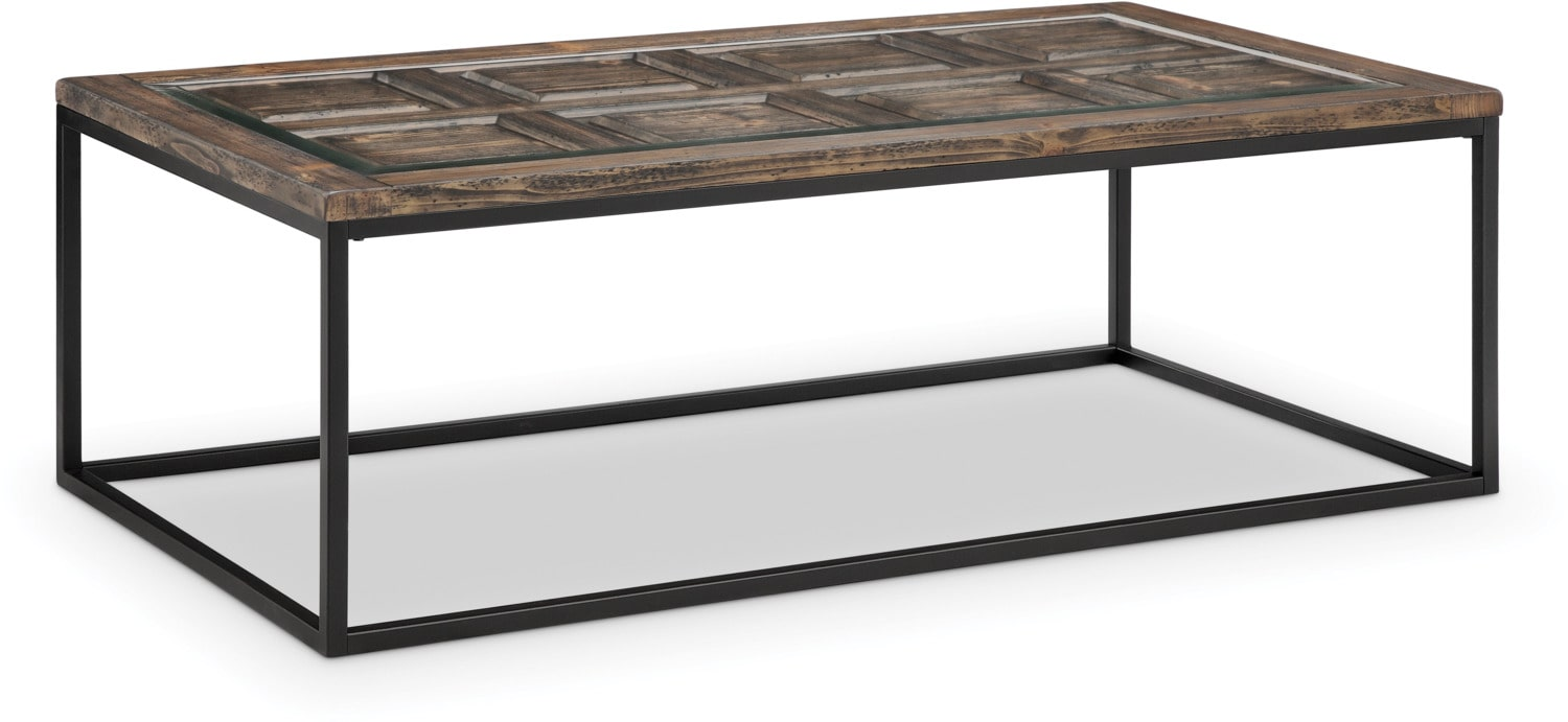 Rochester Coffee Table - Burnished Brown