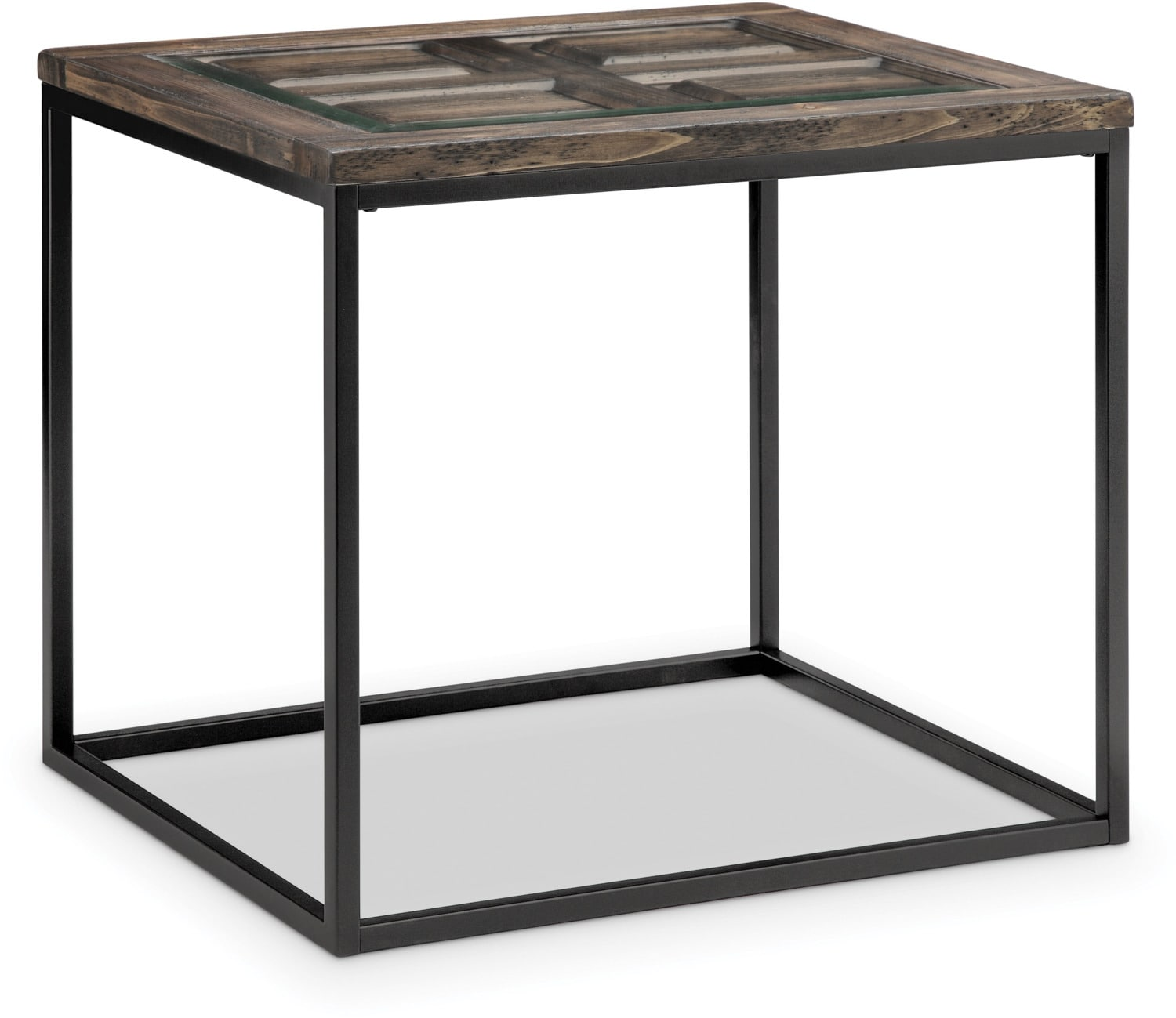 Rochester End Table - Burnished Brown