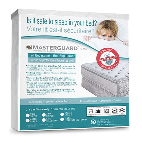 Masterguard® Encasement Bedbug Barrier - Queen