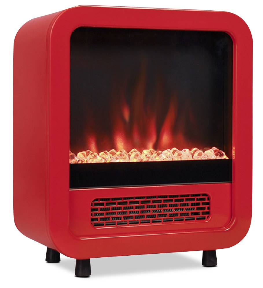 Accent and Occasional Furniture - Jetson Red Space Heater