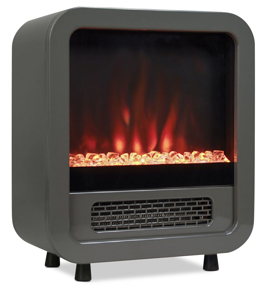 Accent and Occasional Furniture - Jetson Grey Space Heater