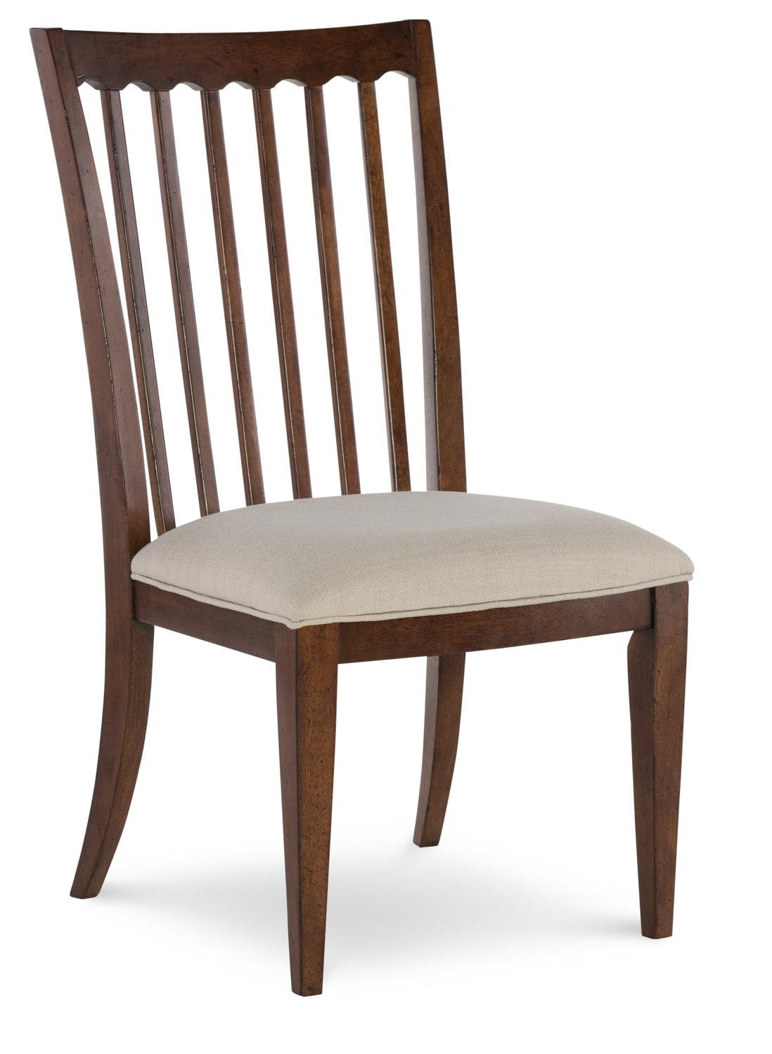 Rachael ray upstate side chair cherry leon 39 s for Cherry dining room chairs