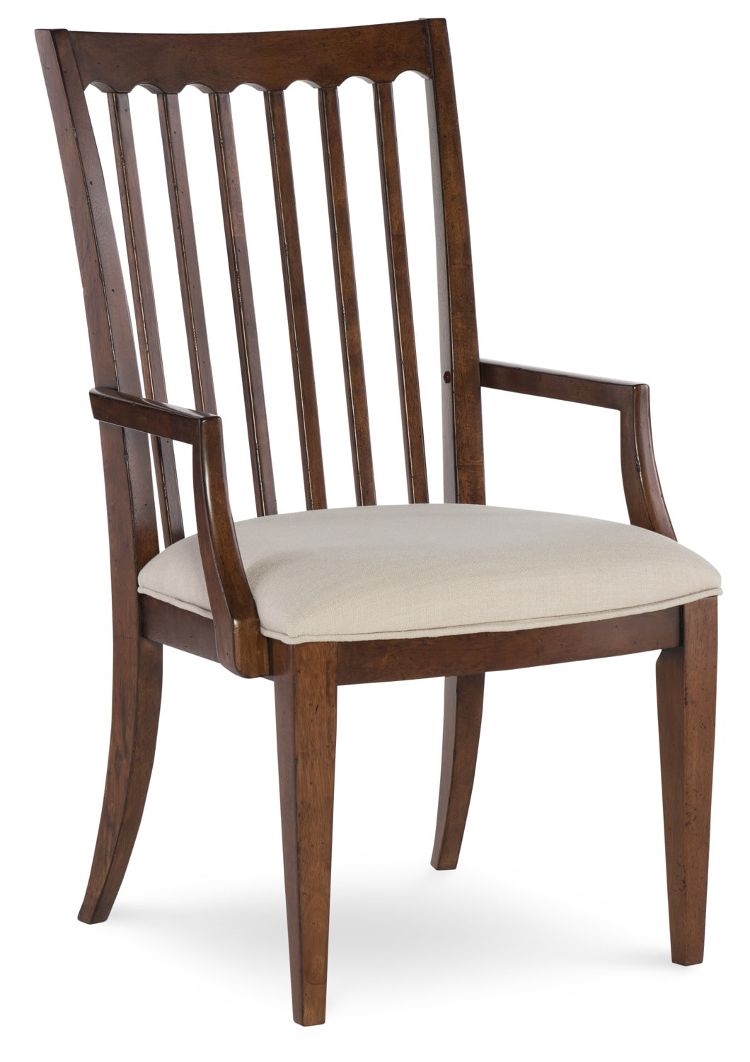 Dining Room Furniture - Rachael Ray Upstate Arm Chair  - Cherry
