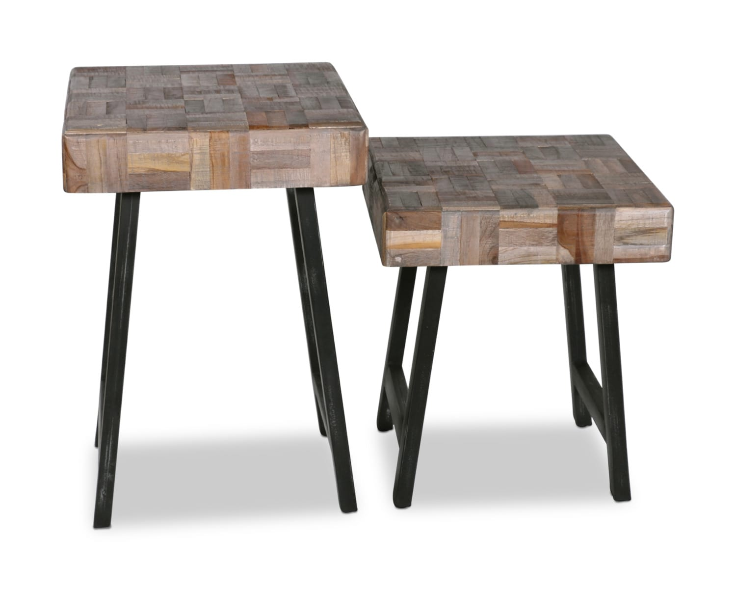 Accent and Occasional Furniture - Everett Accent Tables – Set of 2