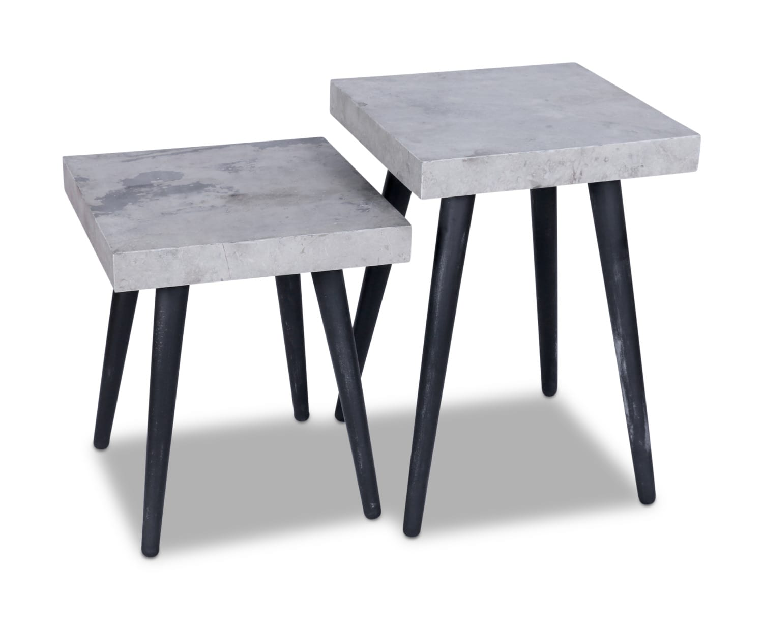 Accent and Occasional Furniture - Salem End Tables – Set of 2