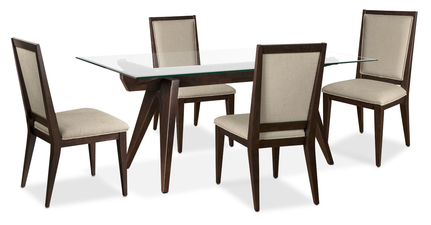 Dining Room Furniture - Madison 5-Piece Dining Package