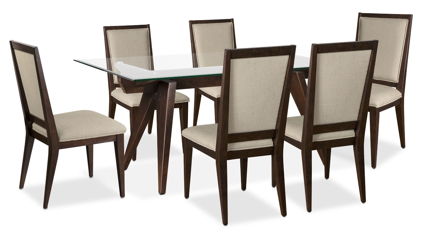 Dining Room Furniture - Madison 7-Piece Dining Package