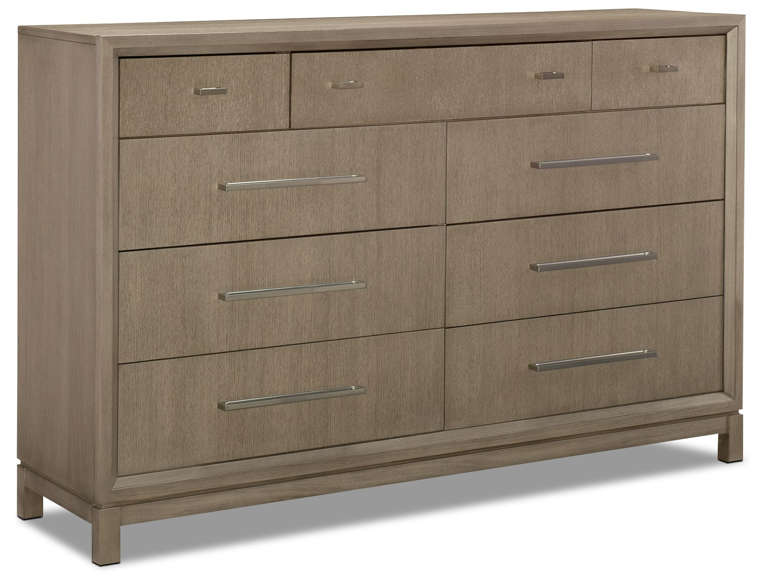 Bedroom Furniture - Rachael Ray Highline Dresser - Greige