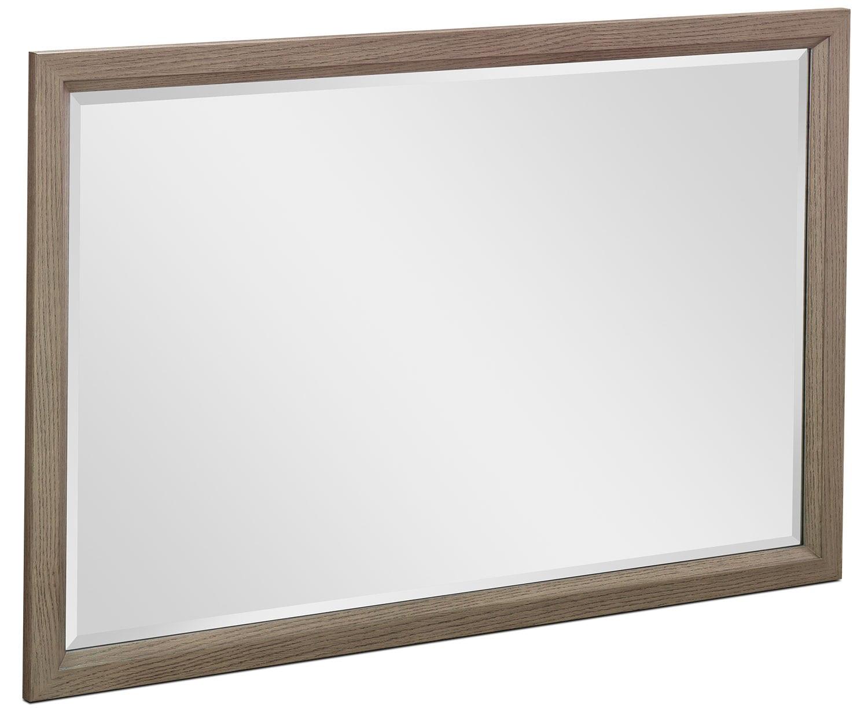 Bedroom Furniture - Rachael Ray Highline Mirror - Greige